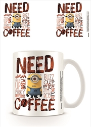 Despicable Me - Need Coffee | Merchandise
