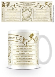 Harry Potter - Hogwarts School List Books | Merchandise