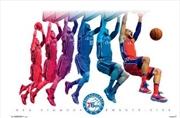 NBA - Ben Simmons Jump Poster