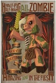 Minecraft - Half Pig, Half Man Poster | Merchandise