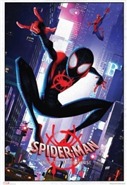 Marvel Spiderverse - Swinging Poster