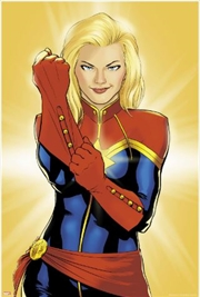 Marvel Comics - Captain Marvel Poster