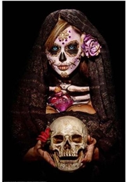 Daveed Benito - Day of the Dead Fortune Teller Poster | Merchandise