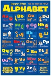Learn The Alphabet Poster | Merchandise