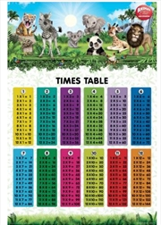 Animal Club - Times Tables Poster | Merchandise