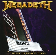 Rust In Peace - Live