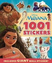 Disney: Moana 1001 Sticker Book | Paperback Book