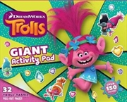 Trolls : Giant Activity Pad | Paperback Book