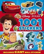 Disney: Pixar 1001 Sticker - Includes Giant Wall Sticker
