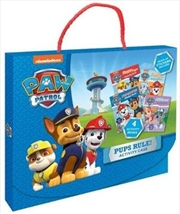 Paw Patrol Pups Rule! Activity Case | Paperback Book
