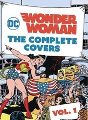 DC Comics Wonder Woman : The Complete Covers Vol. 1 - MINIATURE EDITION | Hardback Book