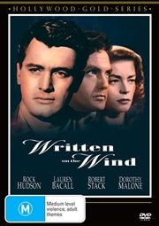 Written On The Wind Hollywood Gold | DVD