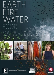 Food Safari Elements - Fire / Earth / Water Boxset | DVD