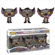 Hyenas Pop! 3pk ECCC 2019 RS