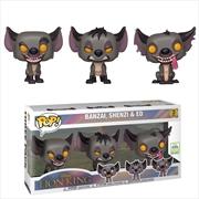 Hyenas Pop! 3pk ECCC 2019 RS