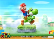 Super Mario - Mario & Yoshi Statue