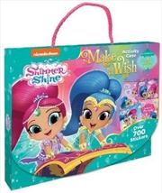 Shimmer and Shine Make a Wish! Activity Case | Paperback Book