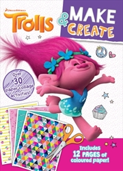 Trolls: Make And Create Activiy Book | Paperback Book