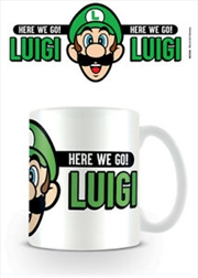 Super Mario - Here We Go Luigi | Merchandise