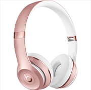 Solo3 Wireless On-Ear Rose Gold Headphones - Beats