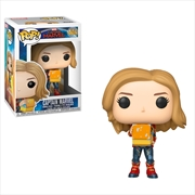 Captain Marvel - Captain Marvel w/Tessaract Pop!