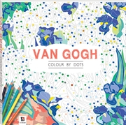 Colour By Dots: Van Gogh | Paperback Book