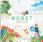Colour By Dots: Monet | Paperback Book