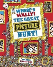 Where's Wally? The Great Picture Hunt | Paperback Book