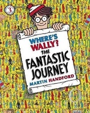 Where's Wally? The Fantastic Journey | Paperback Book