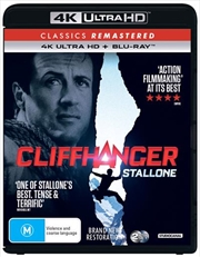 Cliffhanger | Blu-ray + UHD