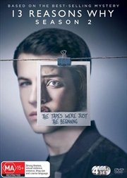 13 Reasons Why - Season 2 | DVD