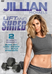 Jillian Michaels - Lift And Shred | DVD