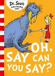Oh Say Can You Say | Paperback Book