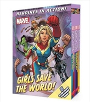 Marvel Heroines in Action: Girls Save the World! | Hardback Book