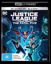 Justice League Vs The Fatal Five | Blu-ray + UHD