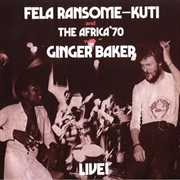 Live With Ginger Baker | CD