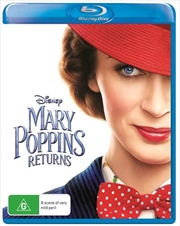 Mary Poppins Returns -  (BONUS TOTE BAG) | Blu-ray