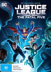 Justice League Vs The Fatal Five | DVD