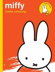 Miffy Jumbo Colouring | Paperback Book