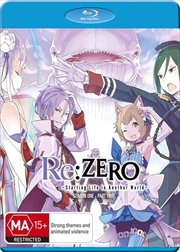 Re Zero Starting Life In Another World - Part 2 | Blu-ray