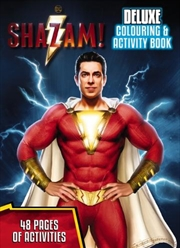 Shazam: Deluxe Colour & Activity | Paperback Book