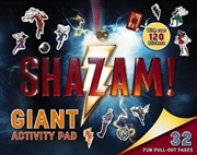 Shazam: Giant Activity Pad | Paperback Book