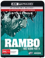 Rambo - First Blood II | Blu-ray + UHD