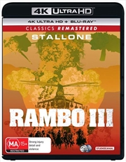 Rambo - First Blood III | Blu-ray + UHD