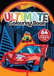 Hot Wheels: Ultimate Colouring Book | Paperback Book