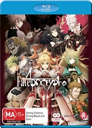 Fate/Apocrypha - Part 2 - Eps 13-25 | Blu-ray