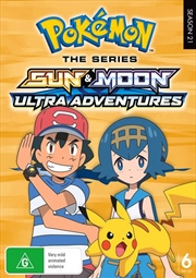 Pokemon The Series - Sun and Moon - Ultra Adventures | Complete Series | DVD