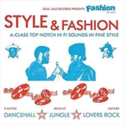 Soul Jazz Presents Fashion Records - Style And Fashion