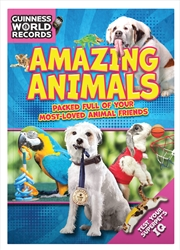 Guinness World Records: Amazing Animals  2018 | Paperback Book