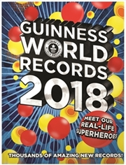 Guinness World Records 2018 | Paperback Book